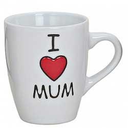 FRAUENGESCHENK   I LOVE MUM zum Muttertag