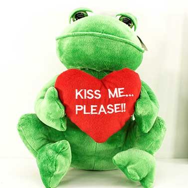 FROSCH | PLÜSCHTIER |KISS ME PLEASE