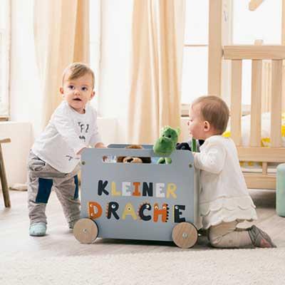KLEINER DRACHE | BABY & KINDER GESCHENKKORB