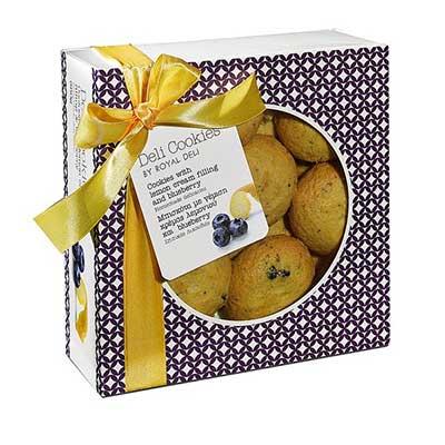 Deli Cookies Blueberry & Zitronencremefüllung  | KUCHEN
