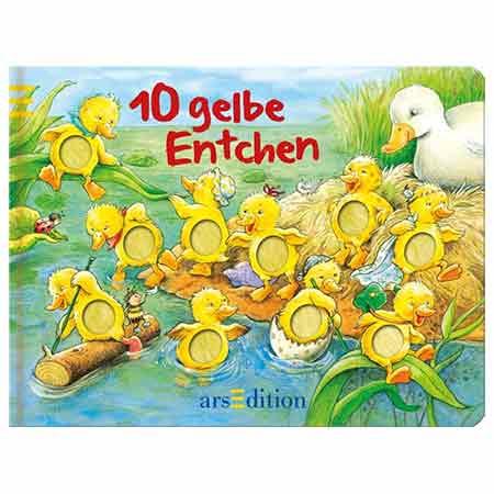 10 GELBE ENTCHEN | BABYGESCHENK JUNGEN