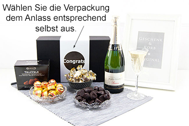 CHAMPAGNER & CO Champagnerpräsent personalisiert