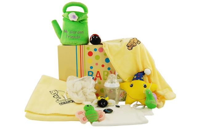 GARTENFREUNDE Baby Set für Neugeborene