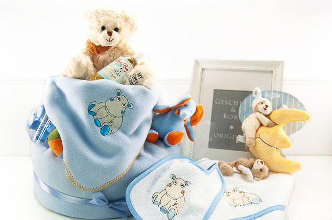 Baby Windeltorte für kleine Jungen