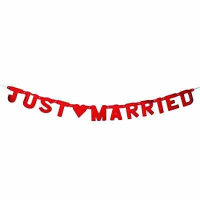 Girlande - JUST MARRIED -