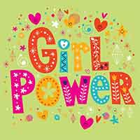 Z_06: Servietten Girl Power