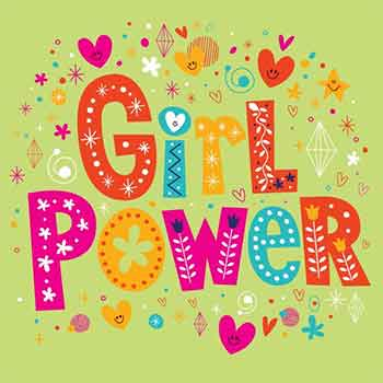 Servietten Girl Power