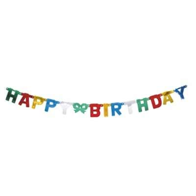 Girlande - HAPPY BIRTHDAY -