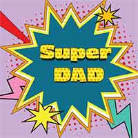Z_96: Servietten -Super DAD-