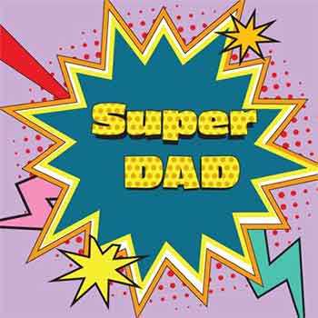 Servietten -Super DAD-