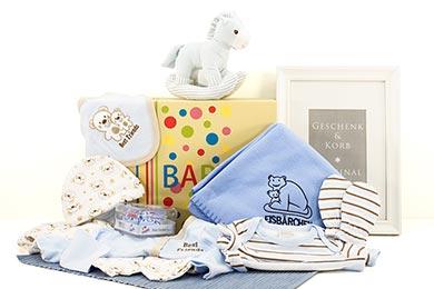 Baby Geschenke ZUR GEBURT JUNGE