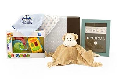 Baby Geschenkset Kleiner Gruß für neugeborene Jungen