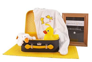 DUCKY BABY GESCHENKBOX FÜR ALLE BABYS