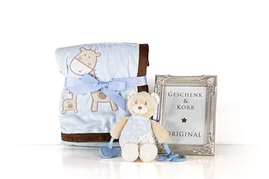 Baby Geschenk für Junge zur Geburt