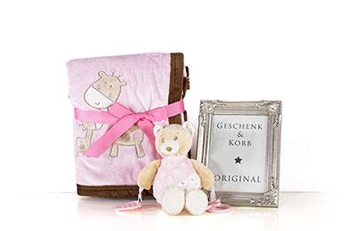 Baby Geschenk für Mädchen zur Geburt