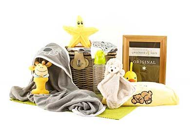 Baby Geschenkkorb mit Bukowski IGEL & FREUNDE