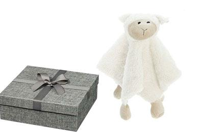 Süße Baby Geschenke im Geschenkversand - Schnuffeltuch