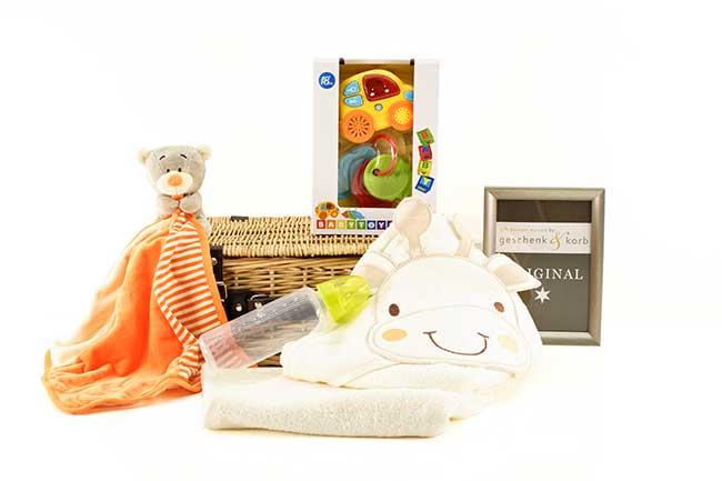 Baby Geschenkkorb ERSTES AUTO versenden lassen