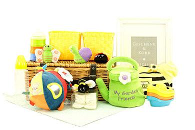 Online Shop BABY GESCHENKKORB GARTENFREUNDE