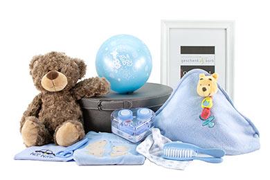BÄRENSTARK - BABY JUNGE GESCHENKKORB