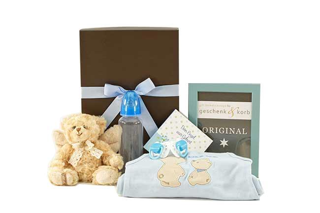 Niedliches Baby Geschenkset Dein Engel für Jungen