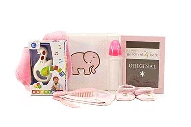 Babygeschenk ROCKSTAR rosa für Mädchen