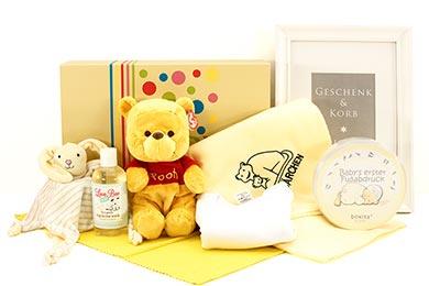 BABYs 1st WINNIE POOH Baby Geschenke verschicken