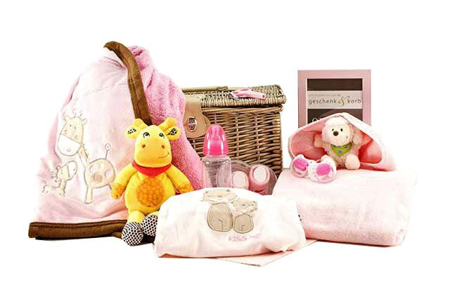 Spielzeit Baby Präsentkorb für kleine Mädchen