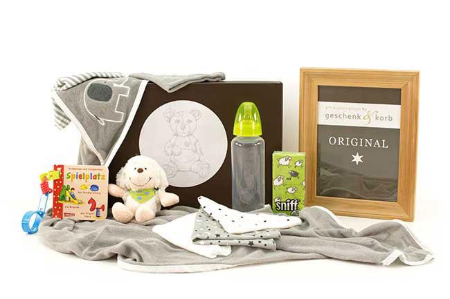 Babygeschenke für 1 Jahr mit Buggy Buch Geschenkset