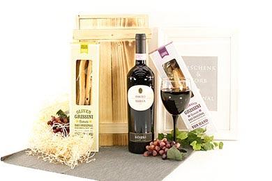 Online Versand BAROLO & GRISSINI Geschenkidee
