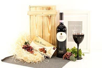 Online Versand BAROLO & TRÜFFEL Wein Geschenk