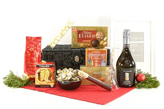 Präsentkorb Weihnachten mit Manzane und mehr