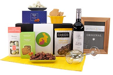 Geschenkbox DURCHHALTEBOX Süß und Salzig