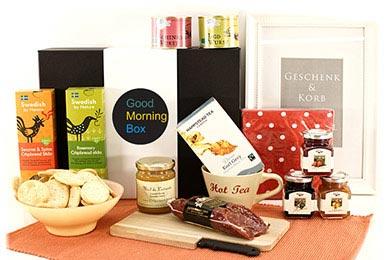 Frühstückskorb WAKE UP Geschenkkörbe