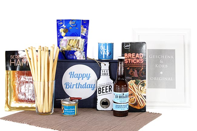 Geburtstagsgeschenk für Männer verschicken lassen