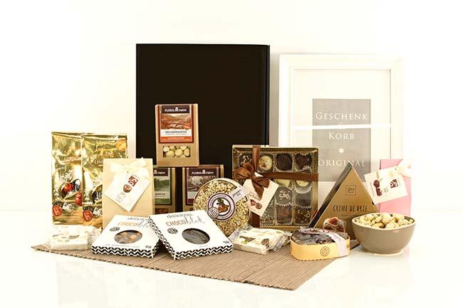 Geschenkbox Gourmetkenner mit Schokolade