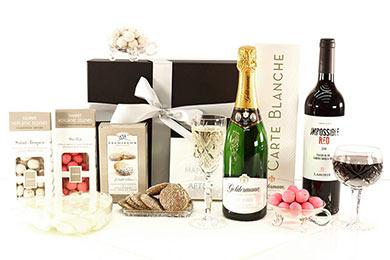 Hochzeitsgeschenke HAPPY DAY Geschenkkörbe schenken