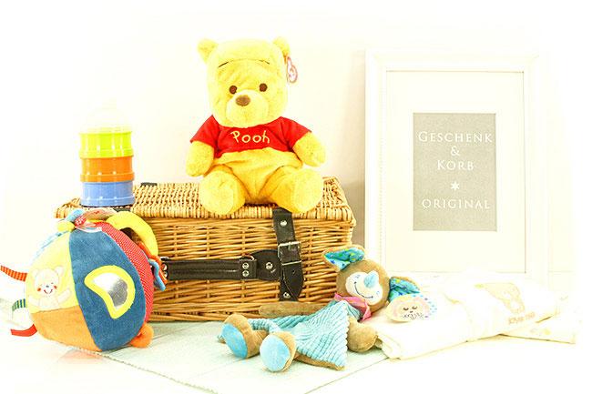 Geschenke fürs Baby GESCHENKKORB WINNIE POOH