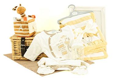 Für Neugeborene GESCHENKKORB GIRAFFE bestellen