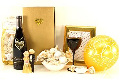 Hochzeitsgeschenke GOLDENE HOCHZEIT Versand