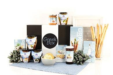 Geschenkbox KRETA mit griechische Spezialitäten