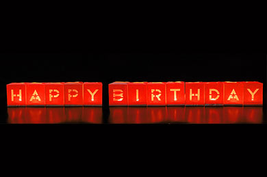 Geburtstagsgeschenke Lightbags HAPPY BIRTHDAY