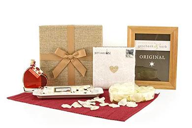 Herzlich - Hochzeitsgeschenk mit Grappa