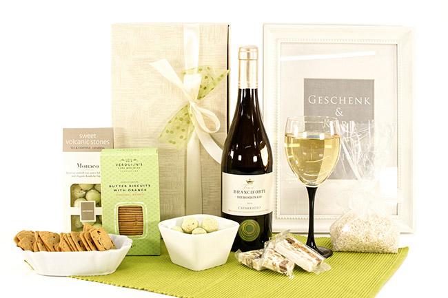 WEISSWEIN & SWEETS Hochzeitsgeschenke online bestellen