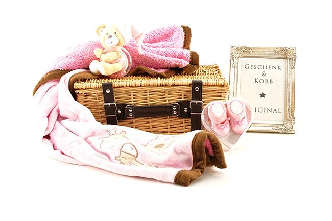 I LOVE MOM BABY GESCHENKKORB Geschenke verschicken