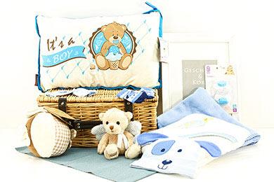 ITs A BOY BABY GESCHENKKORB Geschenke verschicken