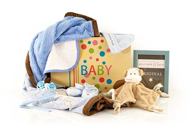 Niedliches Jungen Baby Geschenk Basic