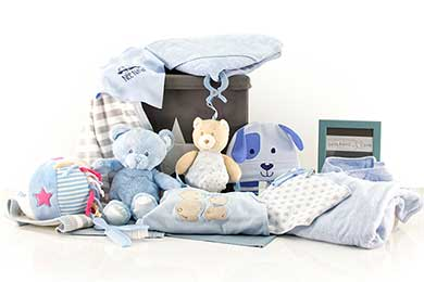 SPIELZEUGBOX Babygeschenke für Jungen