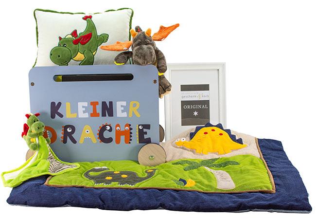 KLEINER DRACHE BABY & KINDER GESCHENKKORB