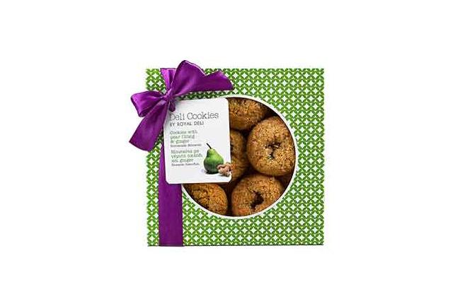 Deli Cookies Birne & Ginger Geschenkversand